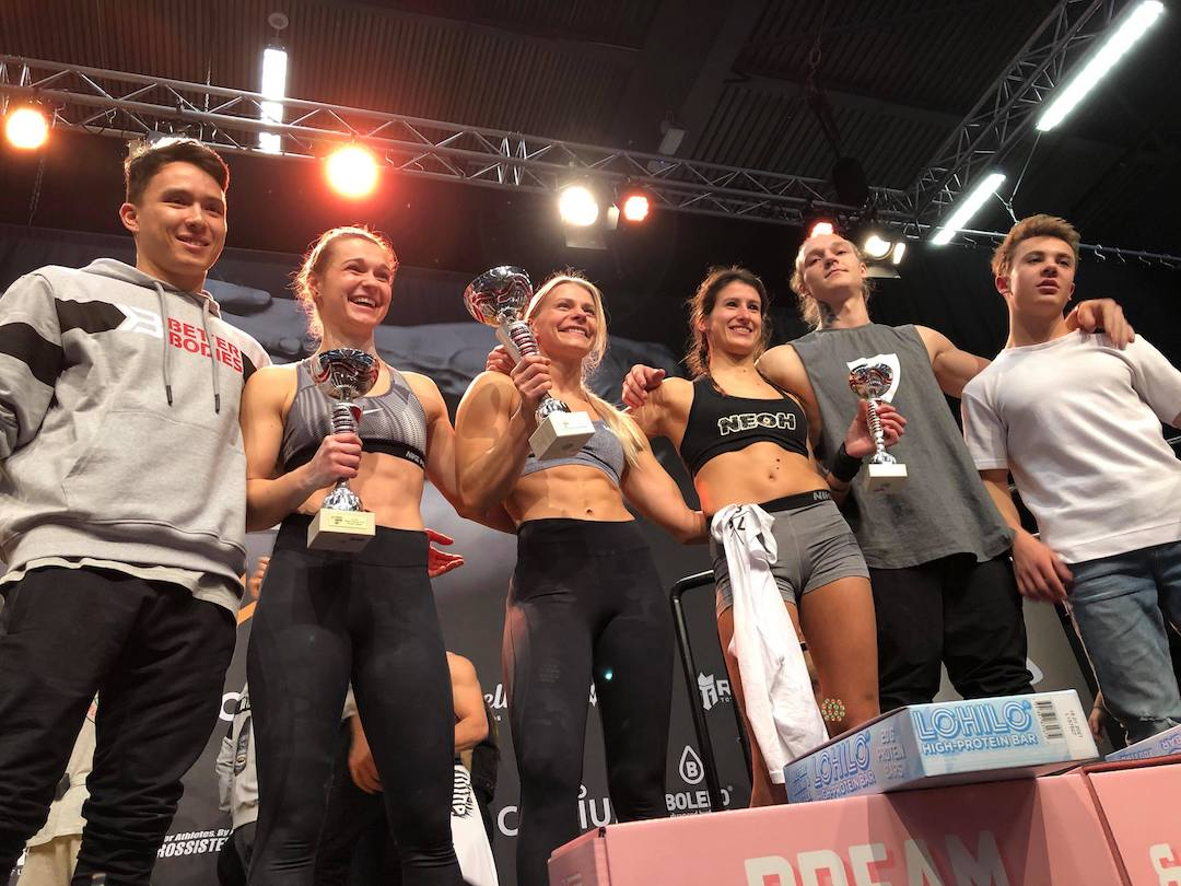 Lea Depagneux Podium SBLworkout Beast of the barz 2019